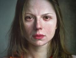Viktoria Savenkova超写实人物肖像画