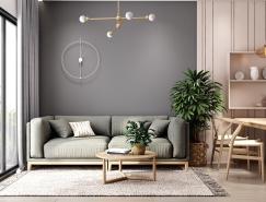 4个柔和温馨的小公寓装修,体育投注