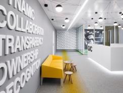 保加利亚GVC办公空间设计