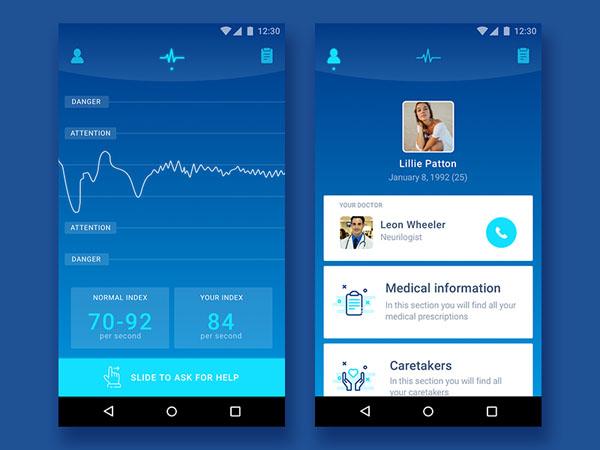 25款医疗APP UI设计欣赏