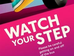 伦敦交通安全宣传海报设计欣赏