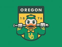 60个棒球队logo设计集锦