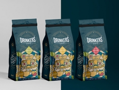 Drinkers咖啡包装设计