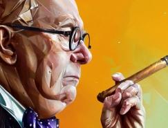 Denis Gonchar著名人物插画作品